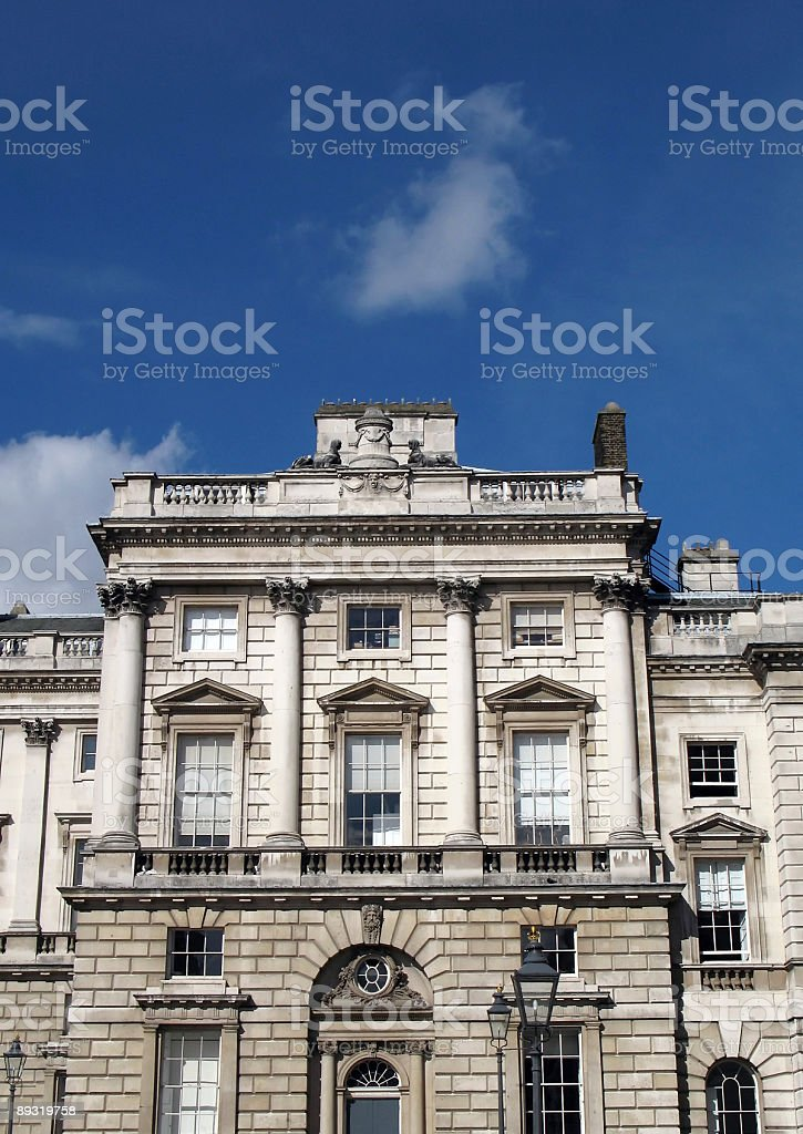 Somerset House stock photo