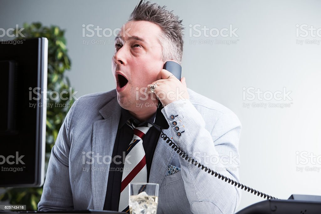 somethime your work could be so tough stock photo