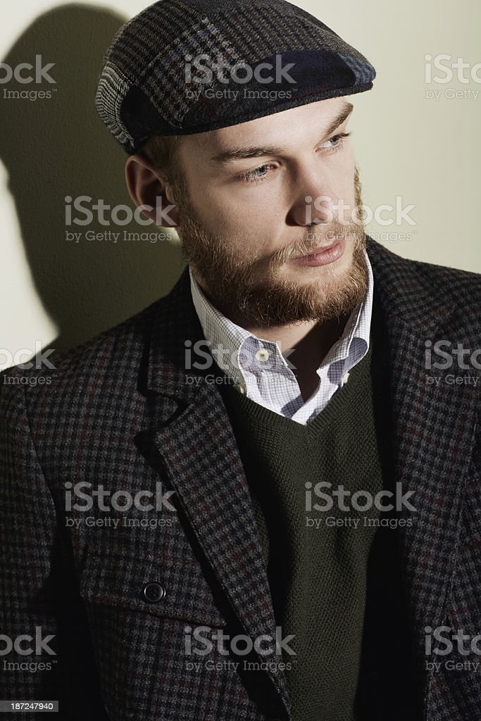 Something's on his mind royalty-free stock photo