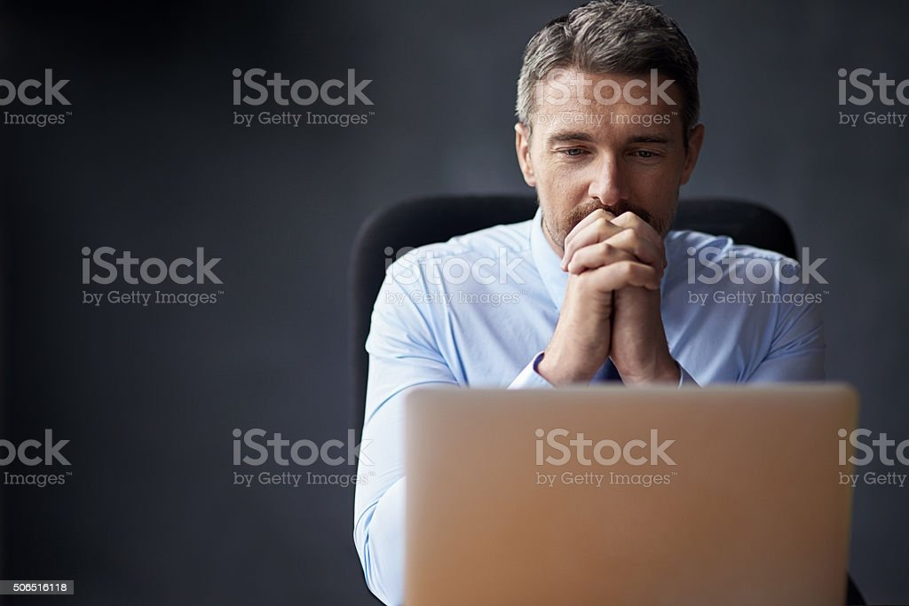 Sometimes the stress is just too much stock photo