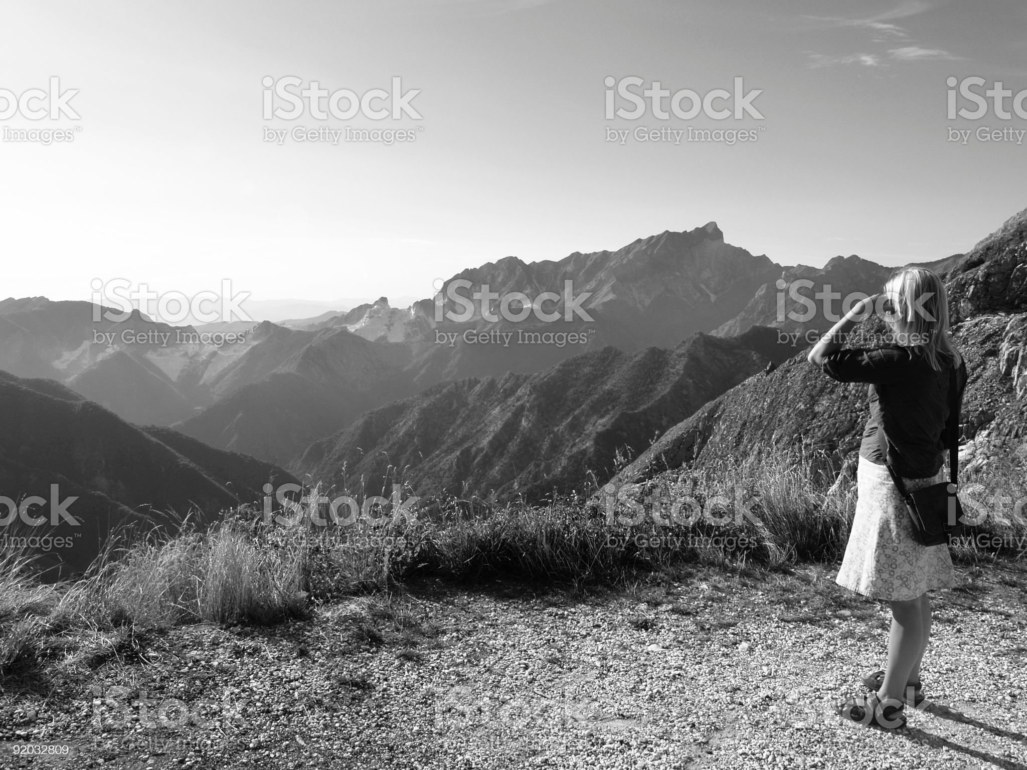 Sometimes u feel a bit small. royalty-free stock photo
