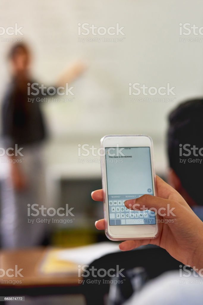 Sometimes you just can't stay focused stock photo