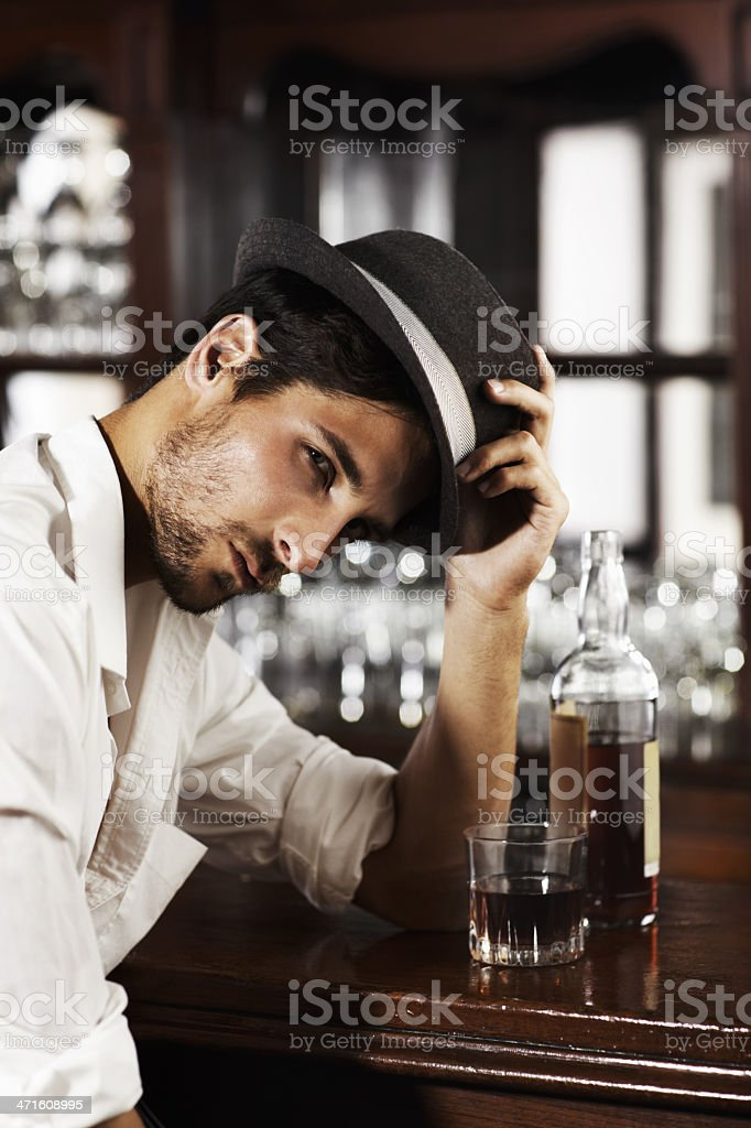 Sometimes you just need to unwind ... alone royalty-free stock photo