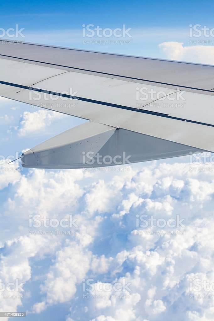 Somewhere over Clouds and Celebes Sea, Tropical Indo-Westpacific royalty-free stock photo