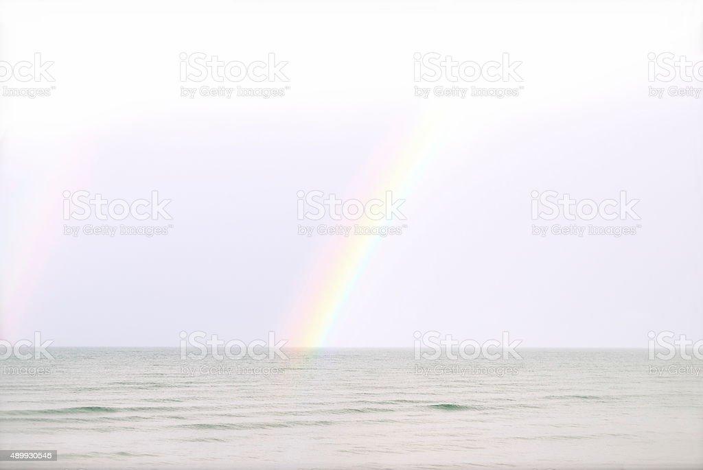 Somewhere over the Rainbow stock photo