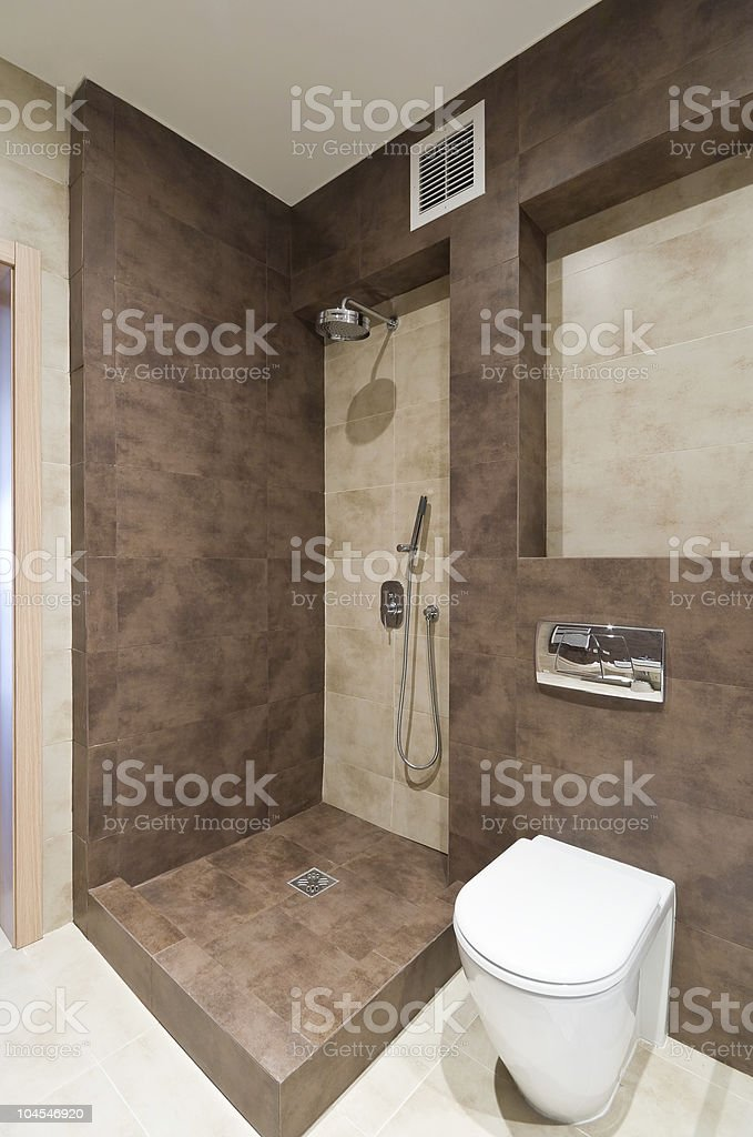Сomfortable bathroom royalty-free stock photo
