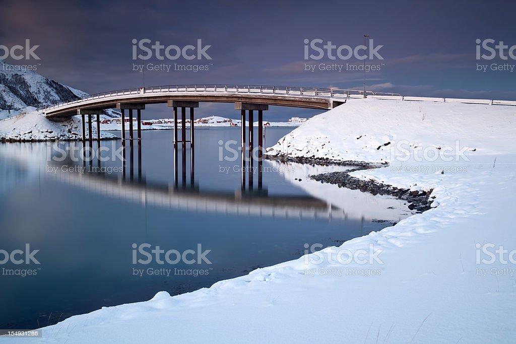 Sommar?ya Bridge stock photo