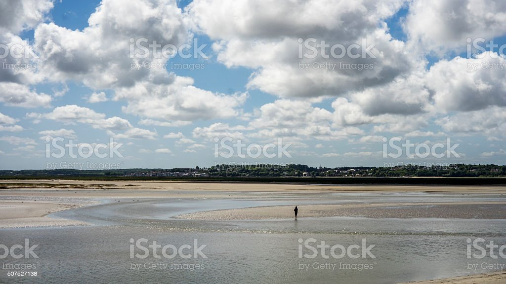 Baie de Somme stock photo
