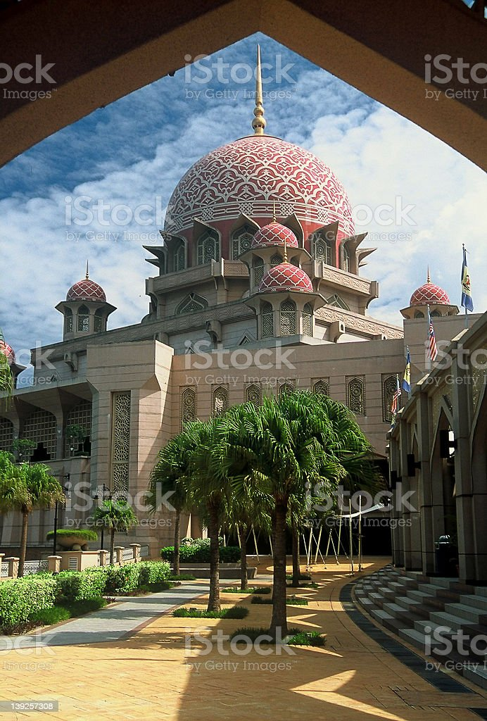 Putra Mosque royalty-free stock photo