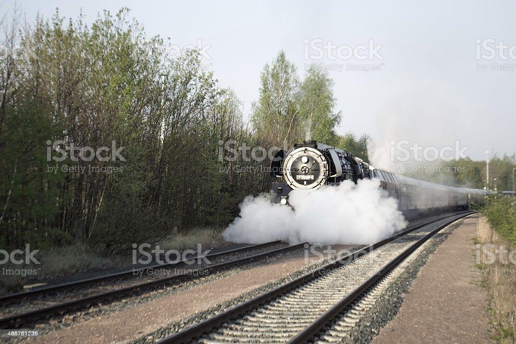 Sonderfahrt Baureihe stock photo
