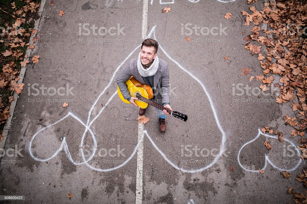Song for her stock photo