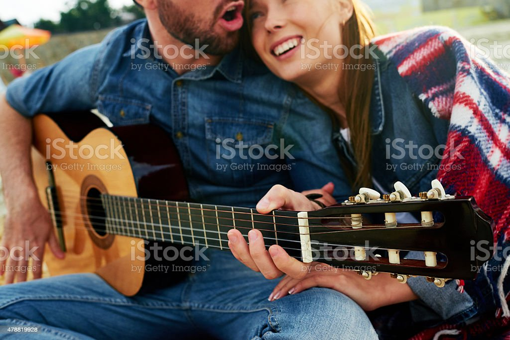 Song for my girl stock photo