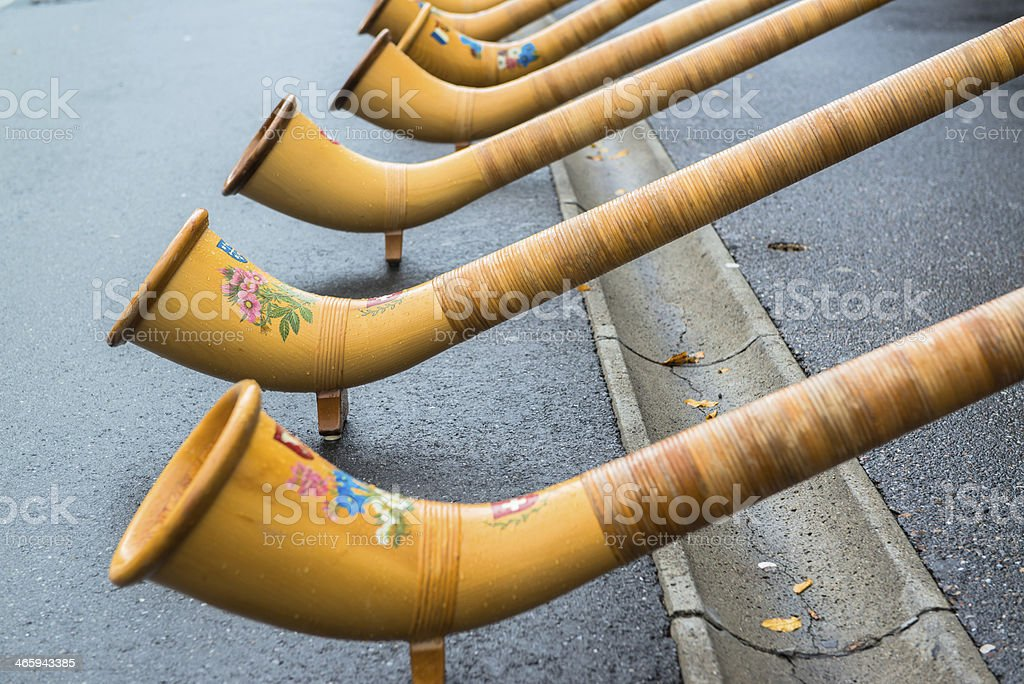 song from  Alphorn stock photo
