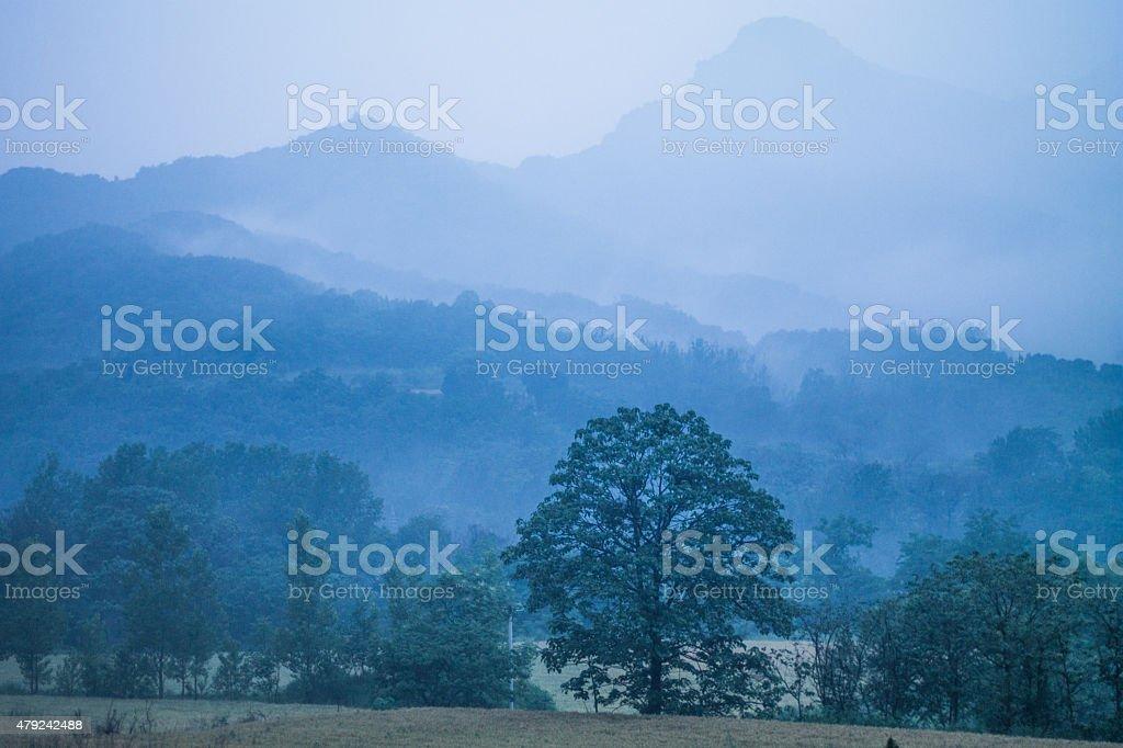 Song mountains stock photo