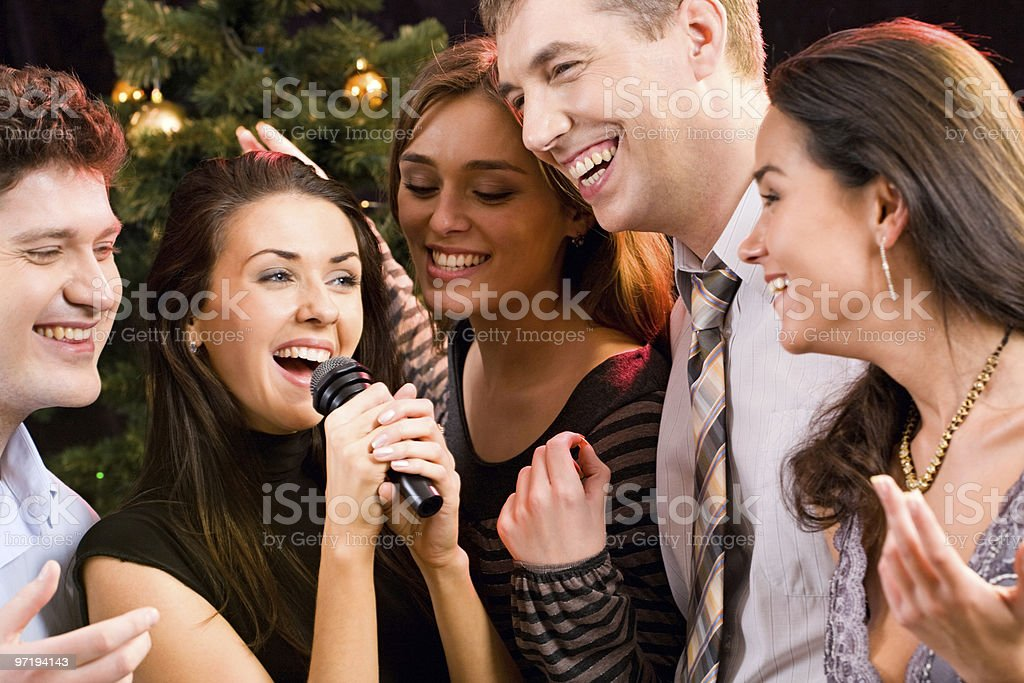 Song stock photo