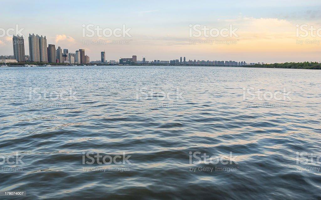 Songhua River stock photo