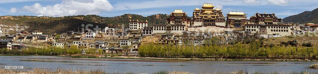 Songzanlin Monastery stock photo