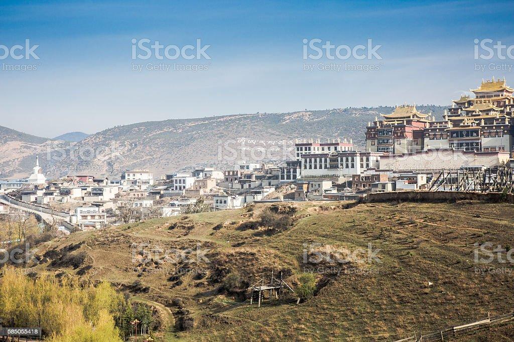 Songzanlin Temple stock photo