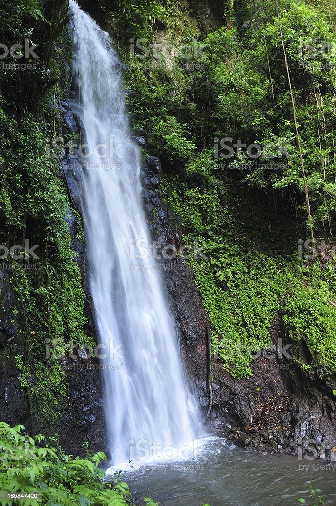 S?o-Nicolau waterfall, S?o Tom? and Pr?ncipe stock photo