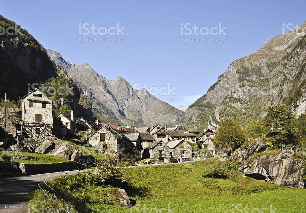 Sonlerto Ticino royalty-free stock photo