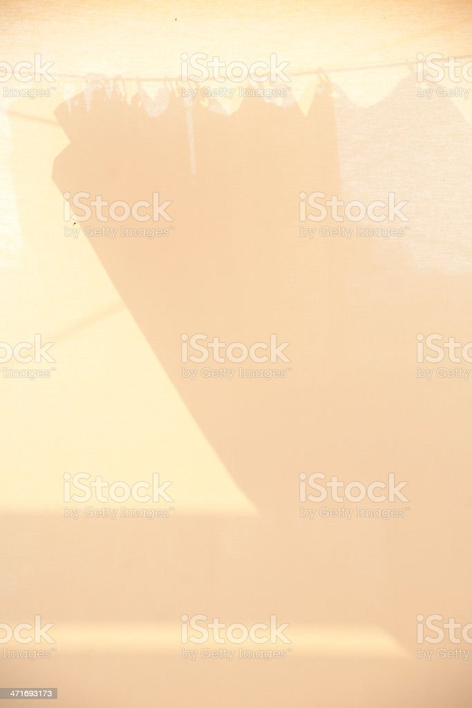Sonnensegel stock photo