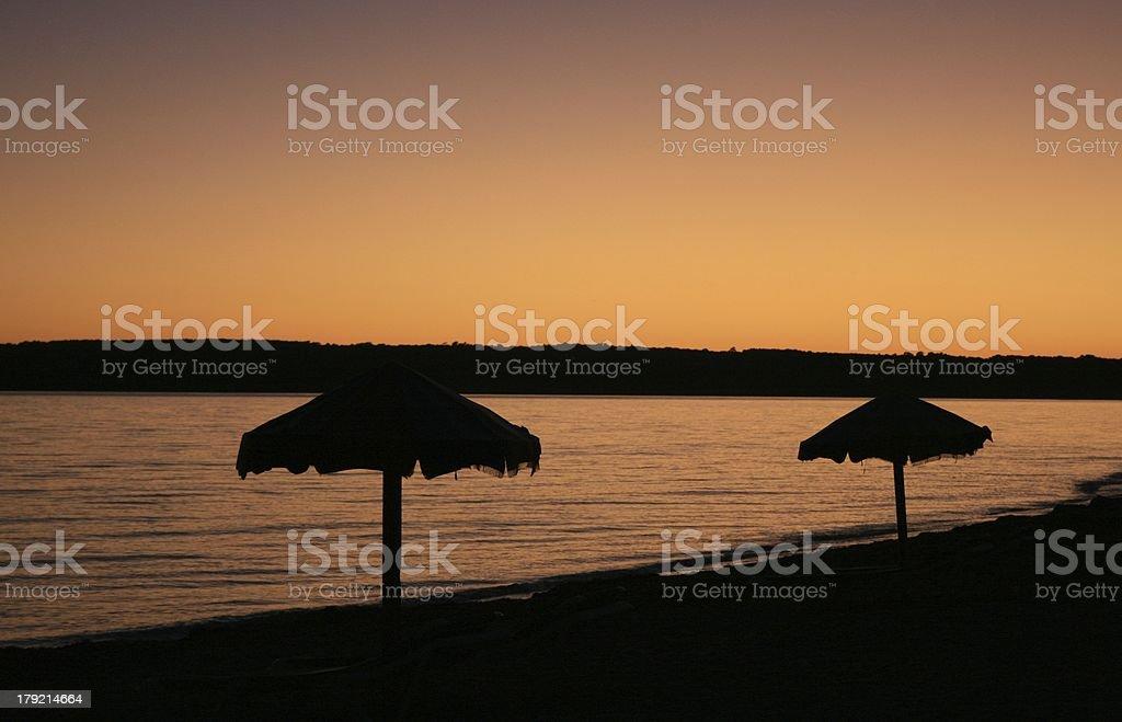 Sonnenuntergang auf Formentera royalty-free stock photo