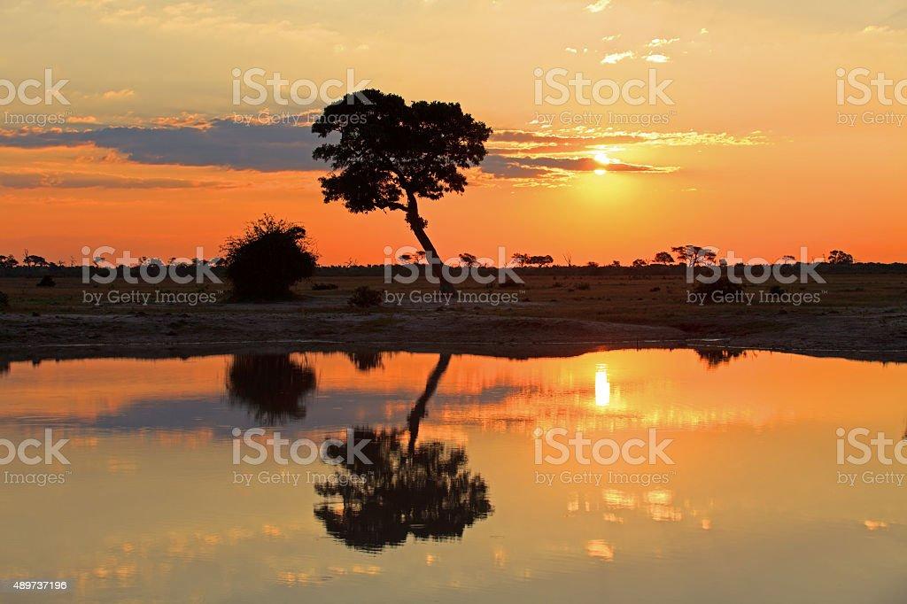 Sonnenuntergang stock photo
