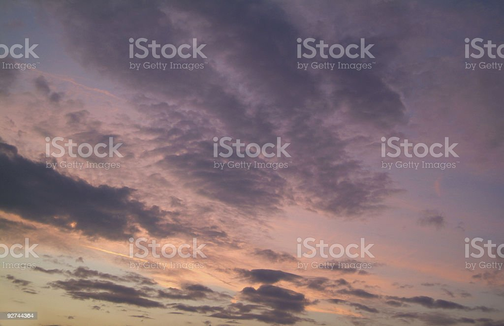 Sonnenuntergang - Sunset royalty-free stock photo