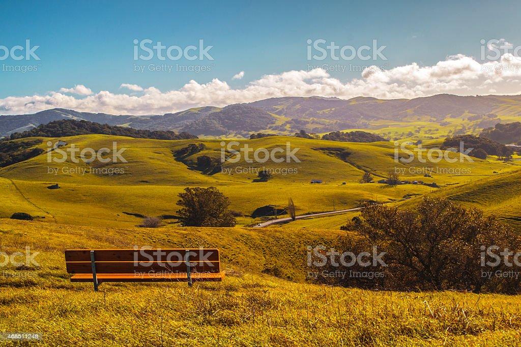 Sonoma County in Northern California stock photo