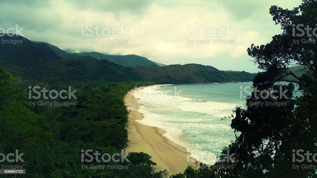 Sono´s Beach ( Praia do Sono ) stock photo