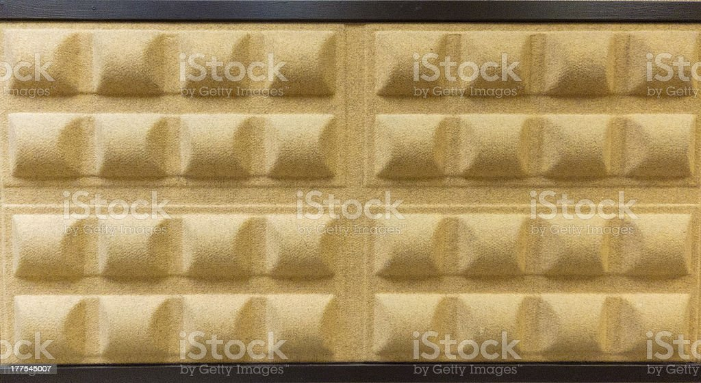 Sonundproof Wall royalty-free stock photo
