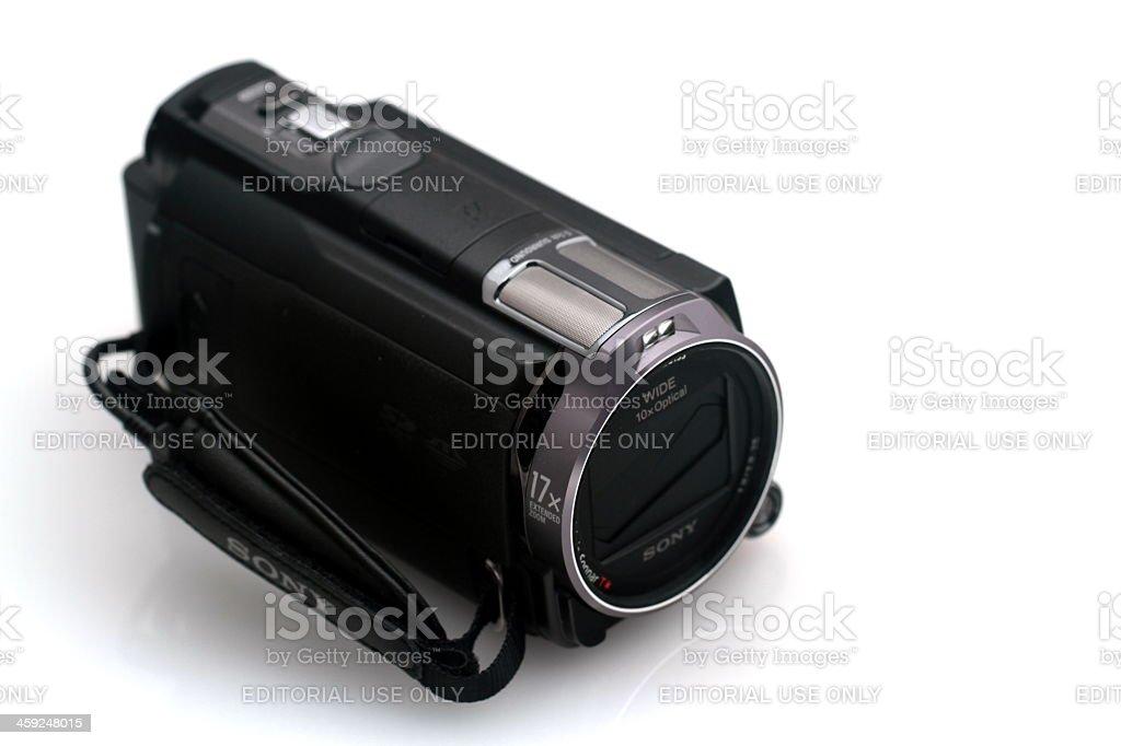 Sony Cx730 royalty-free stock photo