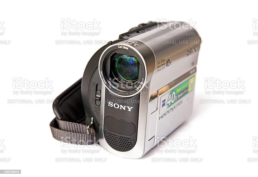 Sony DCR-HC51 stock photo
