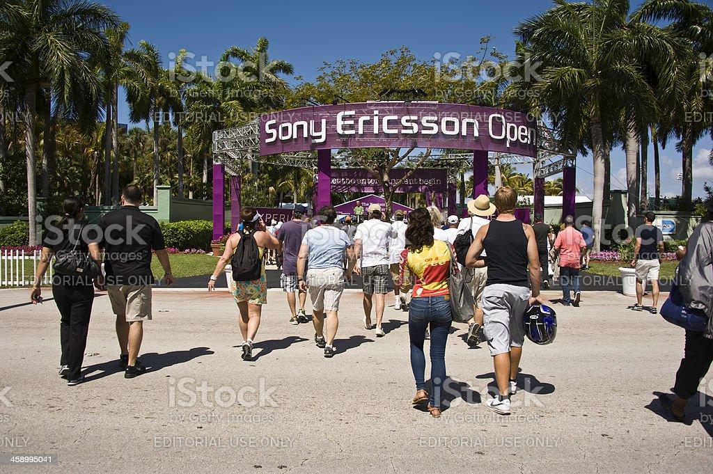 Sony Ericsson Open stock photo