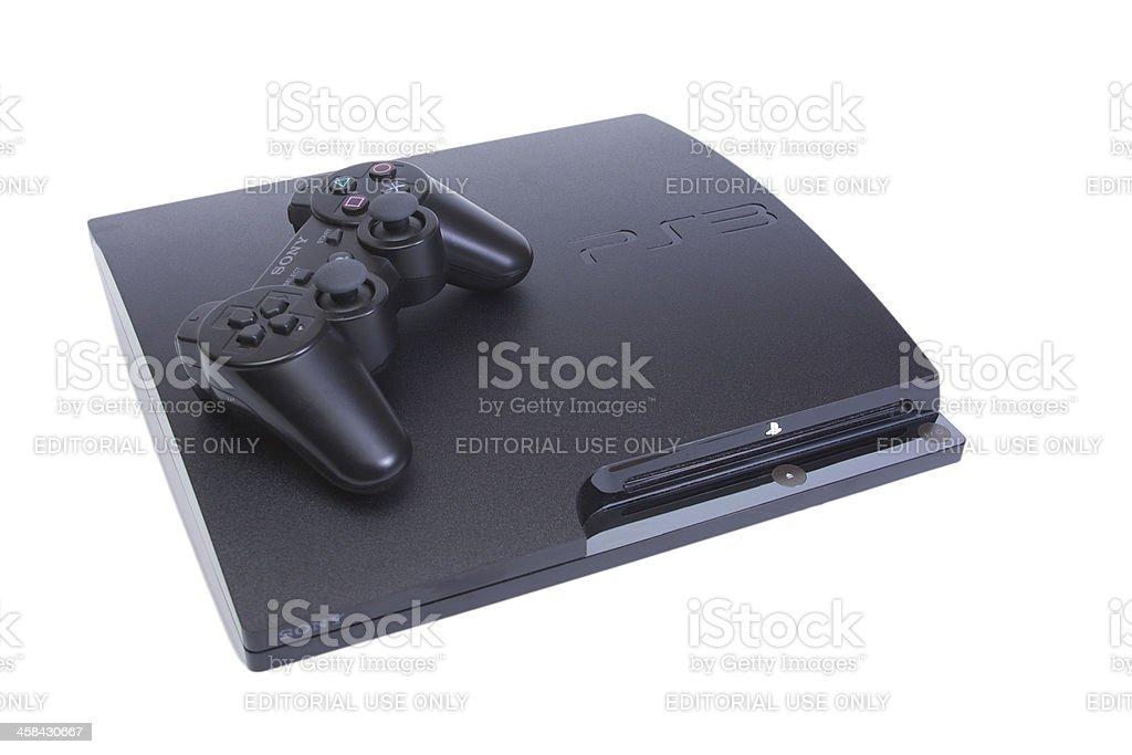 Sony Playstation 3 royalty-free stock photo