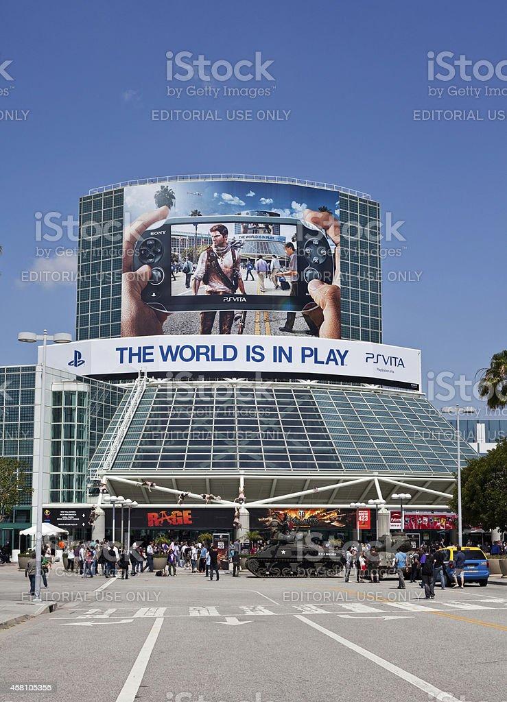 Sony PSVita at E3 2011 royalty-free stock photo