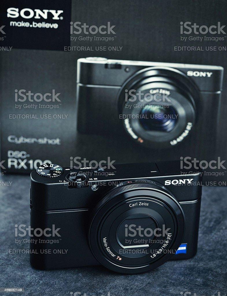 Sony RX100 Digital Camera royalty-free stock photo