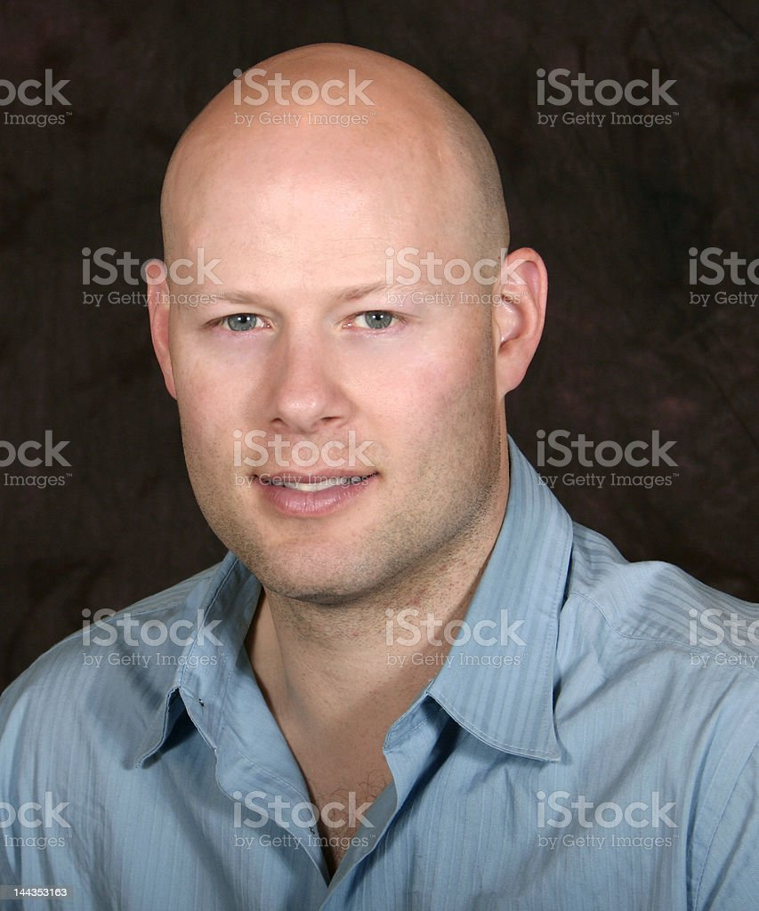 bald royalty-free stock photo