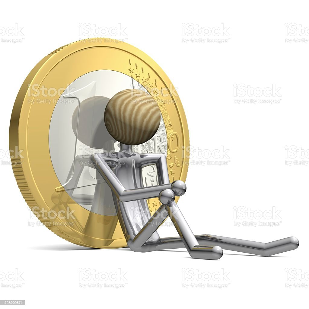 Soothed by Money 1 stock photo