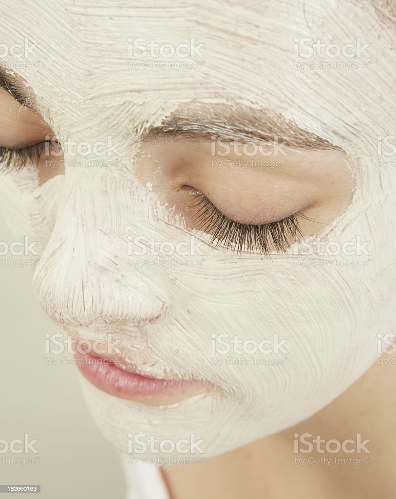Soothing Skin royalty-free stock photo