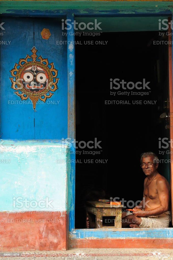 Soothsayer - PURI, INDIA stock photo