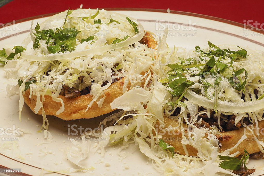 Sopes de pastor royalty-free stock photo