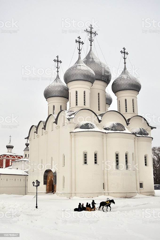 Sophia cathedral in Vologda, Russia royalty-free stock photo