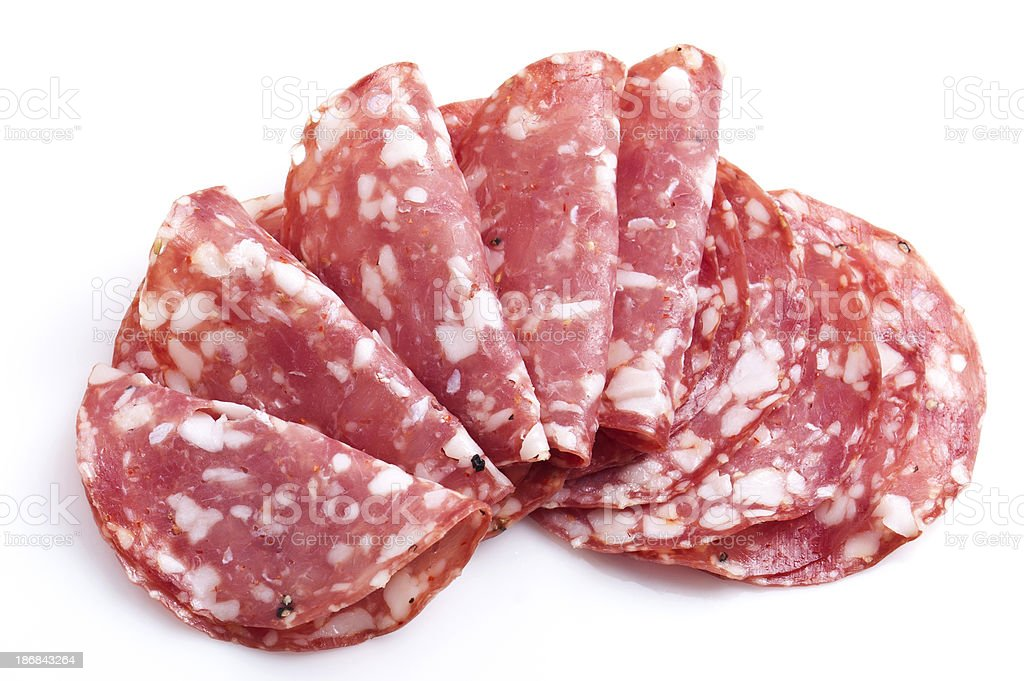 Sopressata stock photo
