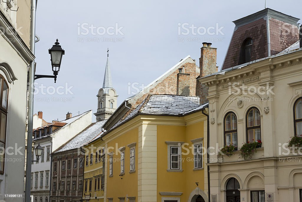 Sopron, Hungary royalty-free stock photo