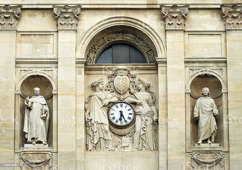 Sorbonne. royalty-free stock photo