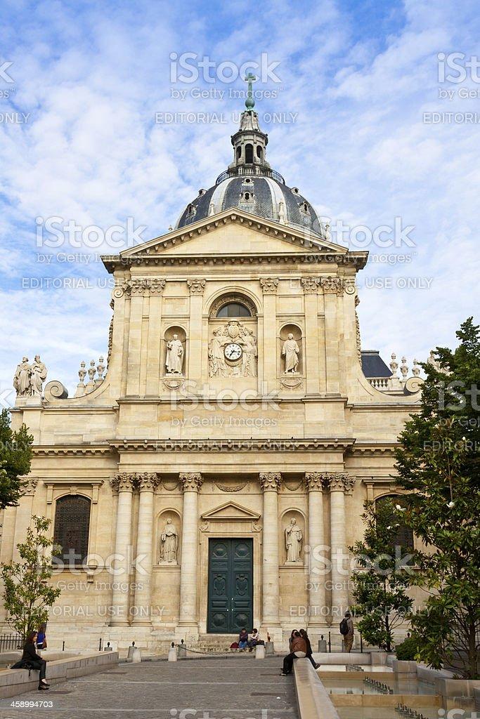Sorbonne University, Paris. royalty-free stock photo