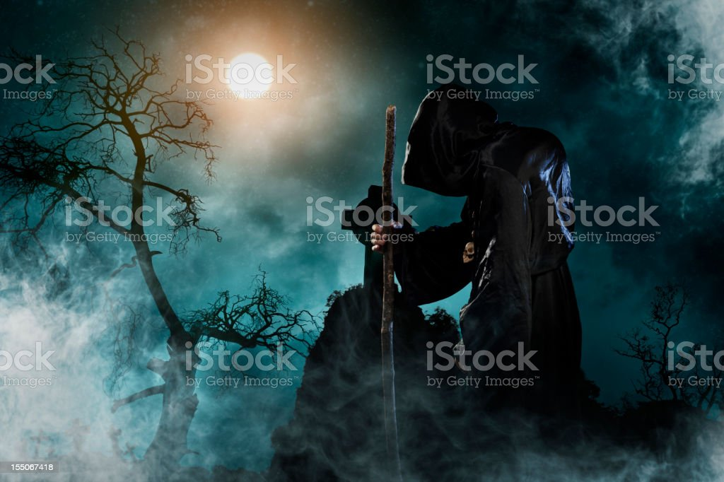sorcerer royalty-free stock photo