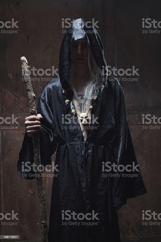 sorcerer royalty-free stock photo