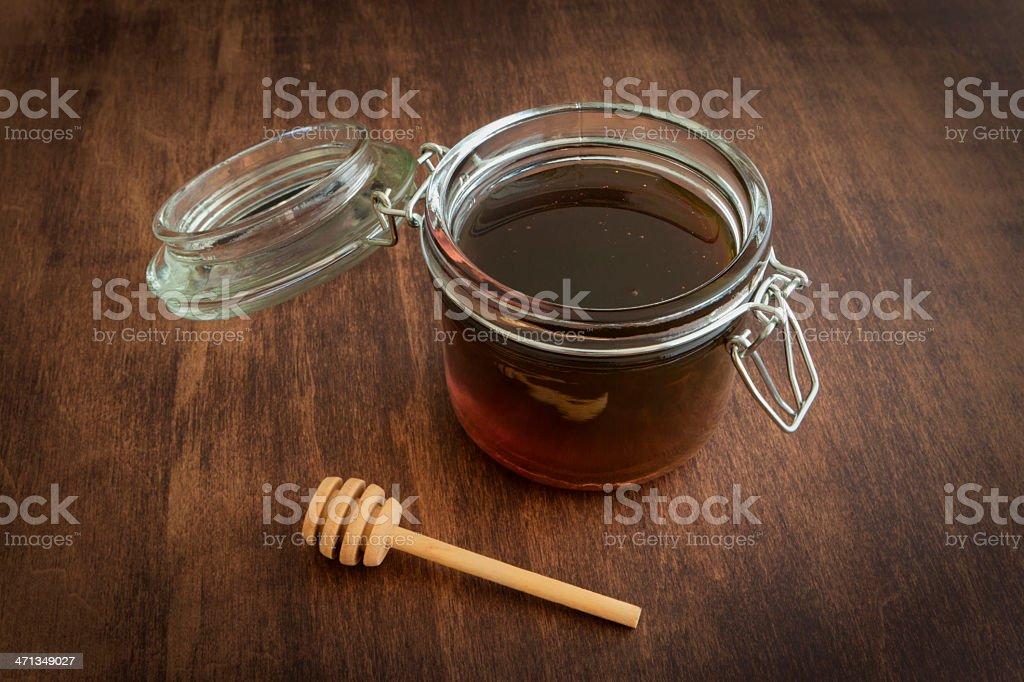 Sorghum Syrup royalty-free stock photo
